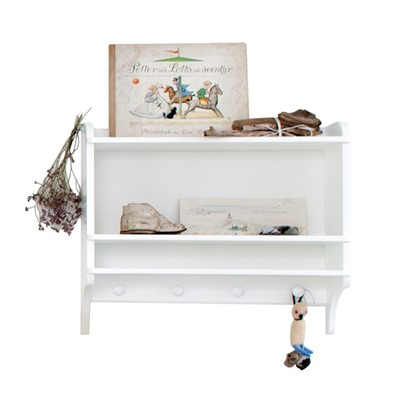 Oliver Furniture Hylla Seaside White