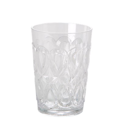 Rice Glas Swirly Clear