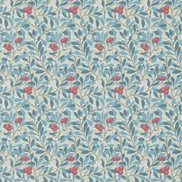William Morris & Co Tapet Arbutus Woad/Russet