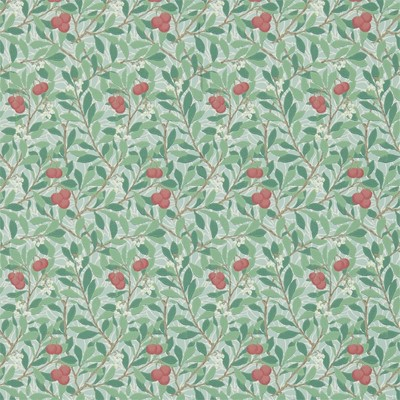 William Morris & Co Tapet Arbutus Thume/Coral