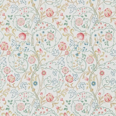 William Morris & Co Tapet Mary Isobel Pink/Ivory