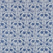 William Morris & Co Tyg Grapevine Indigo