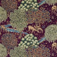 William Morris & Co Tyg The Brook Tapestry Red