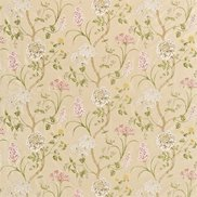 Sanderson Tyg Summer Tree Silk Cream/Rose