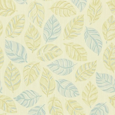 Sanderson Tapet Woodlands Gold/Blue
