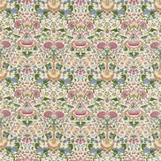 William Morris & Co Tyg Lodden Blush/Woad