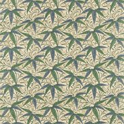 William Morris & Co Tyg Bamboo Thyme/Arttichoke