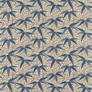 William Morris & Co Tyg Bamboo Indigo/Woad