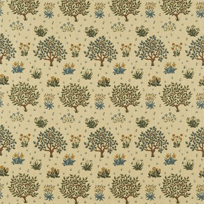 William Morris & Co Tyg Orchard Olive/Gold