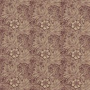 William Morris & Co Tyg Marigold Brick/Manilla