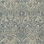 William Morris & Co Tyg Bluebell Seagreen/Vellum