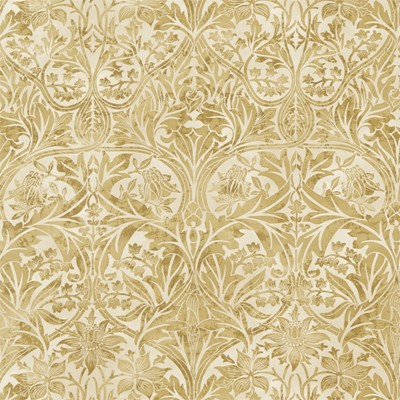 William Morris & Co Tyg Bluebell Gold/Vellum