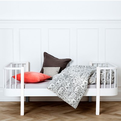 Oliver Furniture Juniorsäng Wood Collection White