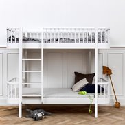 Oliver Furniture Våningsäng Wood Collection White
