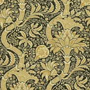 William Morris & Co Tapet Indian Gold/Black