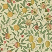 William Morris & Co Tapet Fruit Beige/Gold/Coral