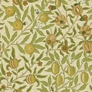 William Morris & Co Tapet Fruit Green/Tan