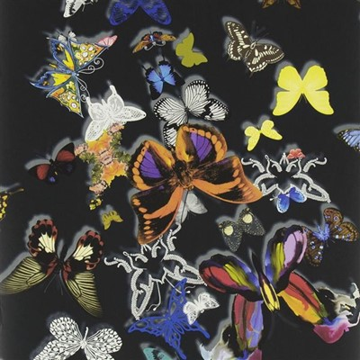 Christian Lacroix Tapet Butterfly Parade Oscuro
