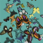Christian Lacroix Tapet Butterfly Parade Lagon
