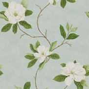 Sanderson Tapet Sweet Bay Wedgwood/Cream