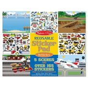 Melissa & Doug Stickers kit  Fordon