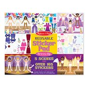 Melissa & Doug Stickers kit  Dress-up