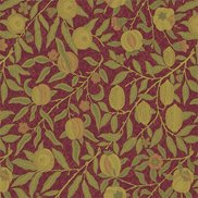 William Morris & Co Tyg Fruit Crimson/Thyme