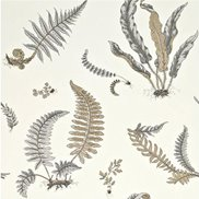 GP & J Baker Tapet Ferns Dove/Grey/Silver