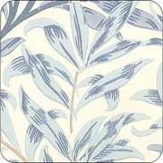 William Morris & Co Glasunderlägg Willow Boughs Blue