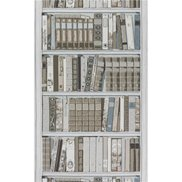 Brunschwig & Fils Tapet Bibliotheque Grey