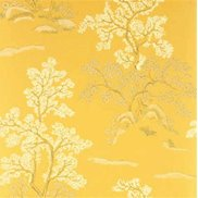 GP & J Baker Tapet Oriental Tree Yellow