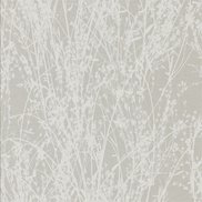 Sanderson Tapet Meadow Canvas White/Grey