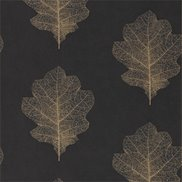 Sanderson Tapet Oak Filigree Charcoal/Bronze