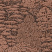 Sanderson Tapet Woodland Toile Copper/Charcoal