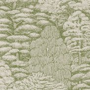 Sanderson Tapet Woodland Toile Cream/Green