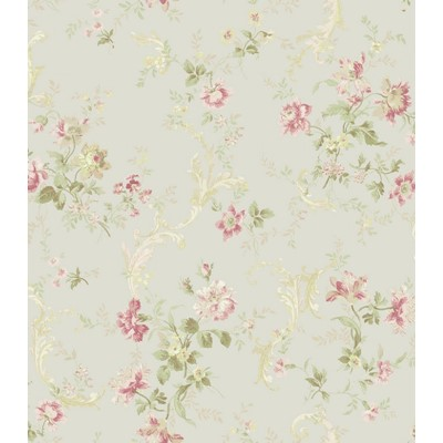 Carma Tapet Florals with Scroll