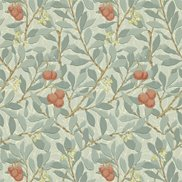 William Morris & Co Tapet Arbutus Blue/Pink