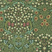 William Morris & Co Tapet Blackthorn Green