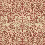 William Morris & Co Tapet Brer Rabbit Church Red/Biscuit