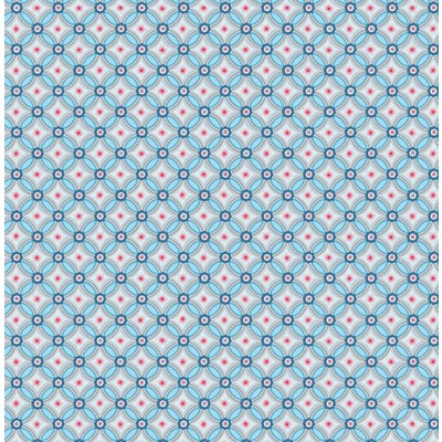 PiP Studio Tapet Geometric Light Blue