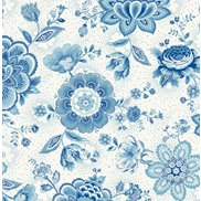 PiP Studio Tapet Folklore Chintz Light Blue