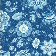 PiP Studio Tapet Folklore Chintz Dark Blue