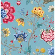 PiP Studio Tapet Floral Fantasy Light Blue