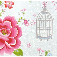 PiP Studio Tapet Birds in Paradise White