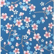 PiP Studio Tapet Cherry Blossom Dark Blue