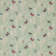 Sanderson Tyg Wisteria & Butterfly Seaspray/Multi