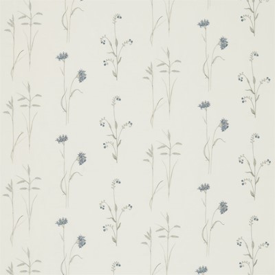 Sanderson Tyg Meadow Grasses Cobalt/Chalk