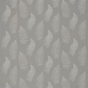 Sanderson Tyg Fern Embroidery Pebble