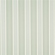 Mulberry Home Tapet Narrow Ticking Stripe Silver/Ivory