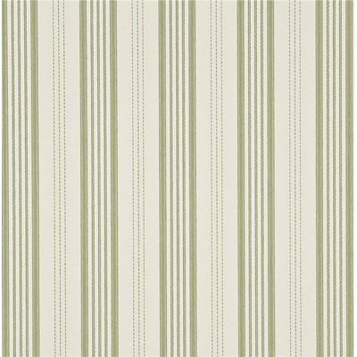 Mulberry Home Tapet Narrow Ticking Stripe Moss